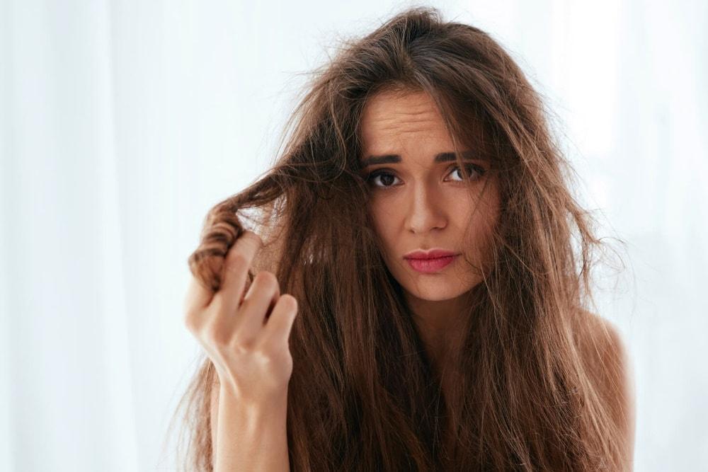 Egészségtelen haj regenerálása